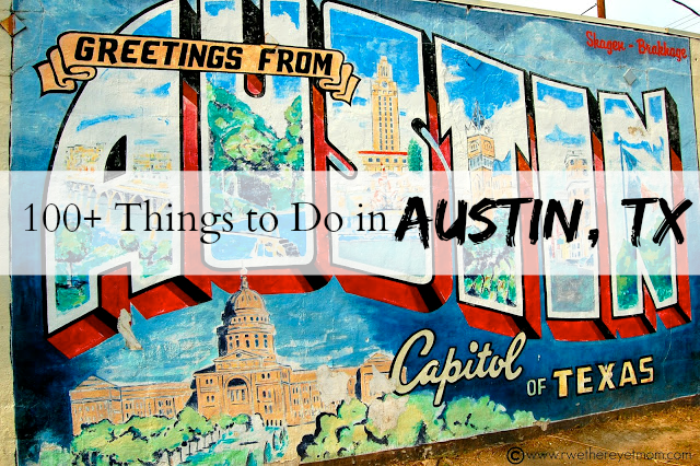 100 Things to do Austin