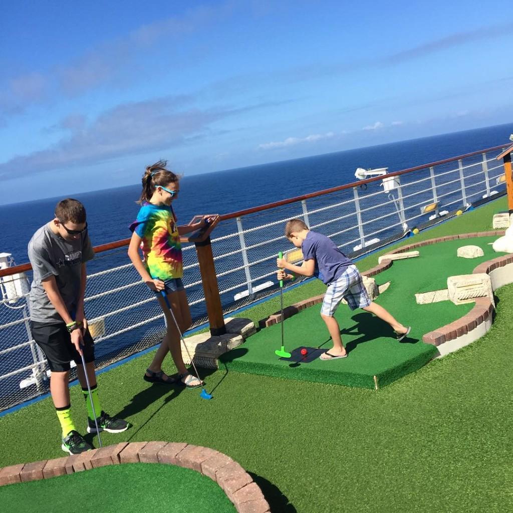 Carnival Freedom Golf