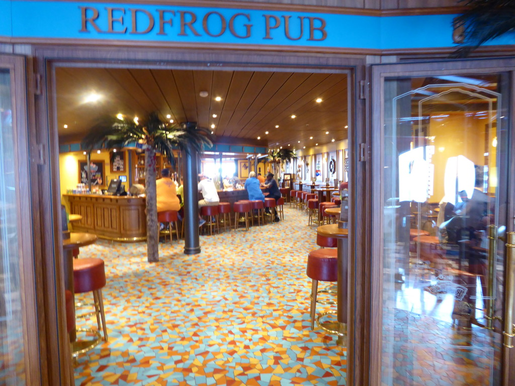 Carnival Freedom: RedFrog Pub