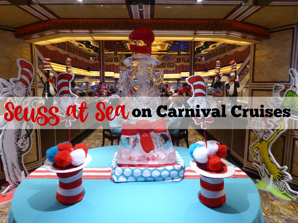 Seuss at Sea on Carnival Cruises