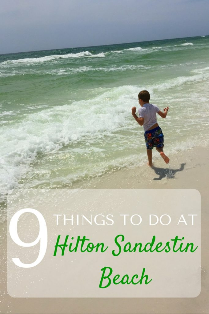 9 Things to do at Hilton Sandestin Beach