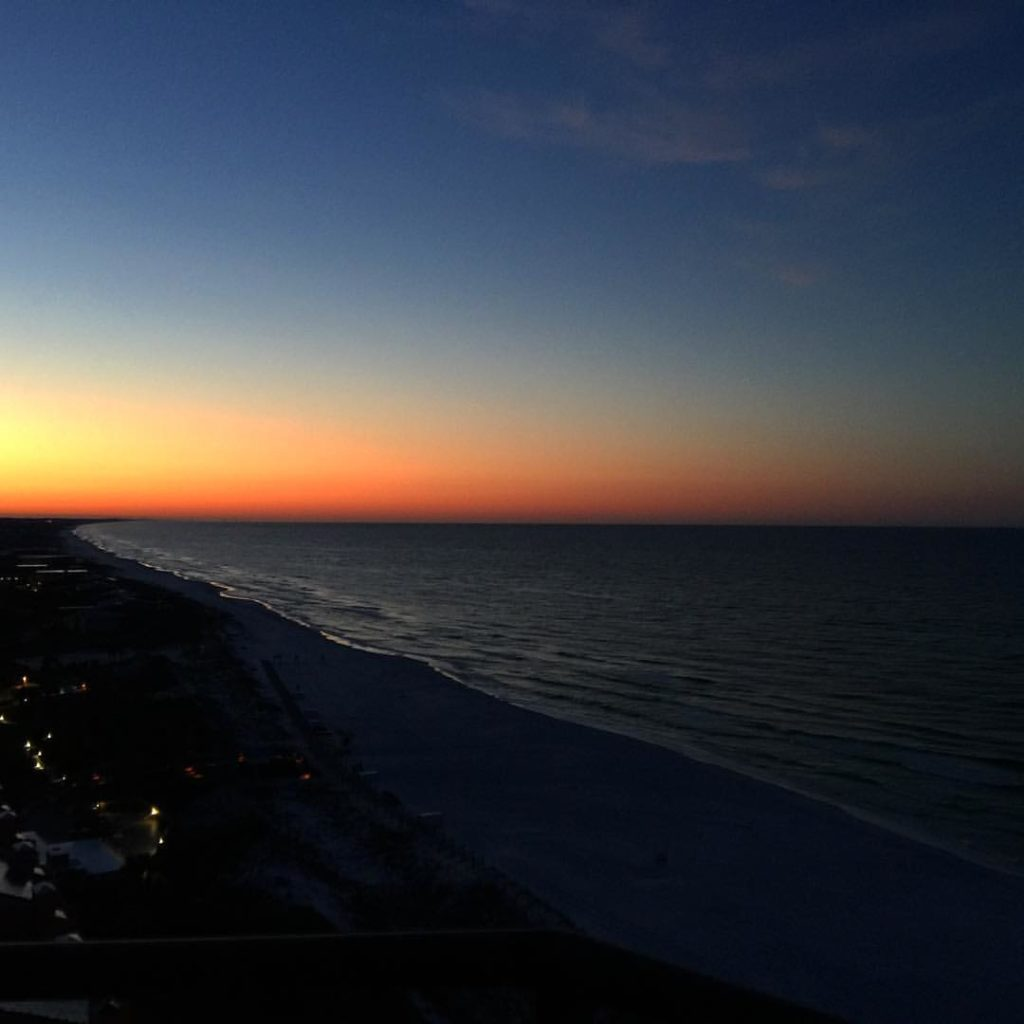 Hilton Sandestin Beach sunrise