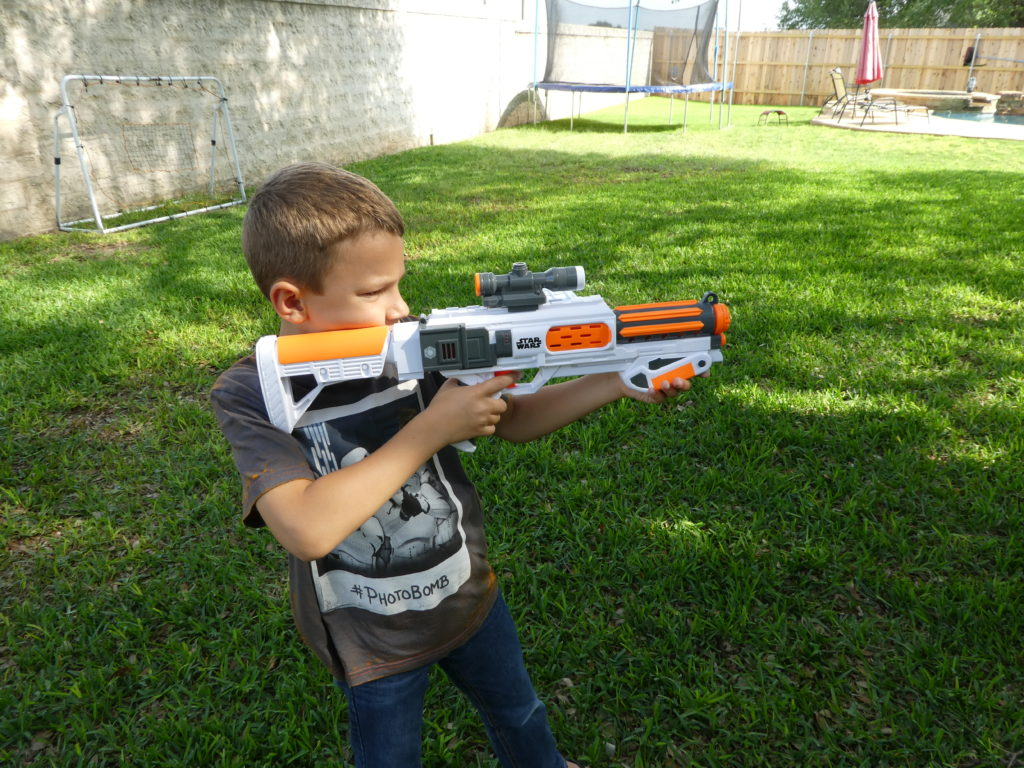 Star Wars Day: Nerf Gun