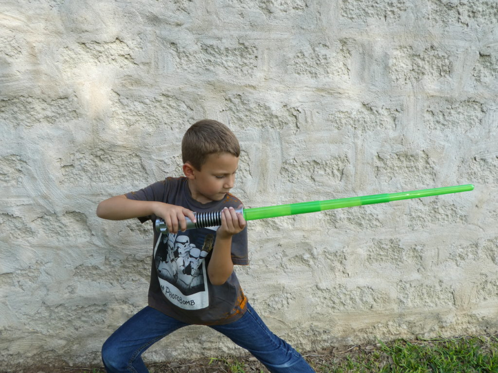 Star Wars Day: Lightsaber