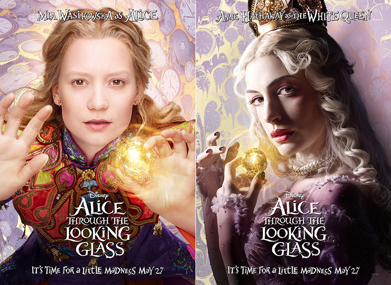 Alice-Through-Looking-Glass-Posters