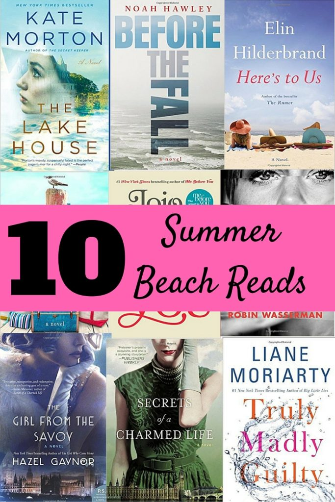 10 Summer Beach Reads