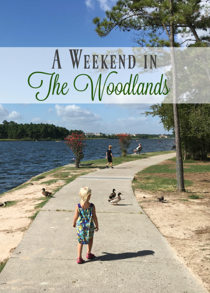 A Weekend in The Woodlands