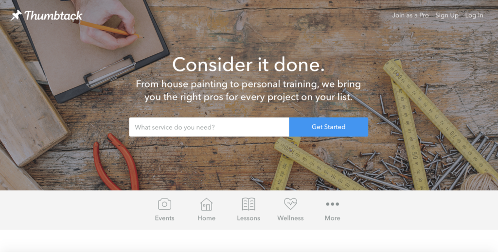 Consider it Done with Thumbtack | #ConsideritDone