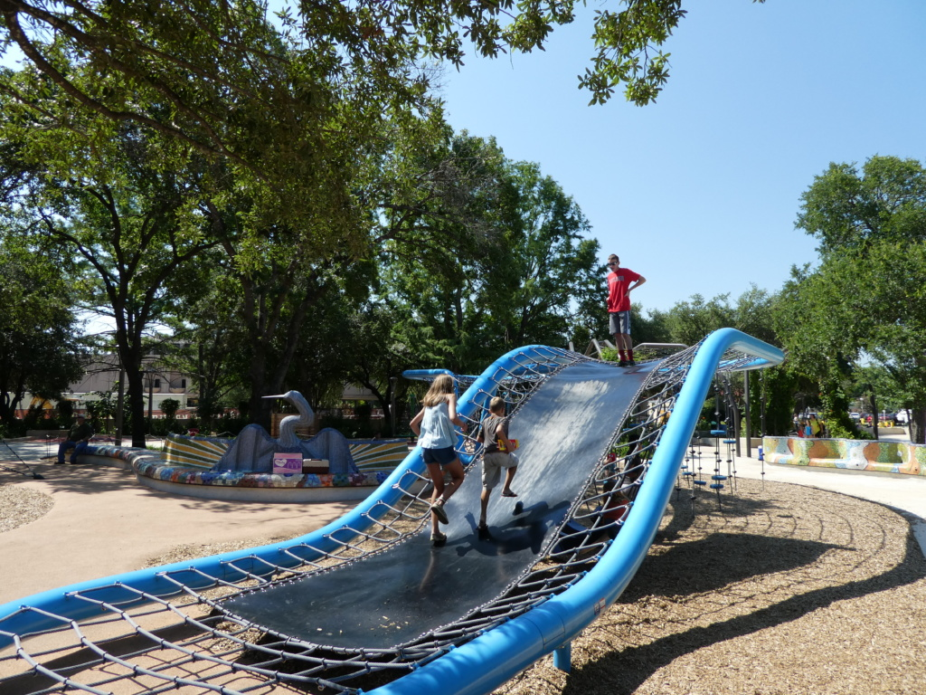 San Antonio with Kids- playground