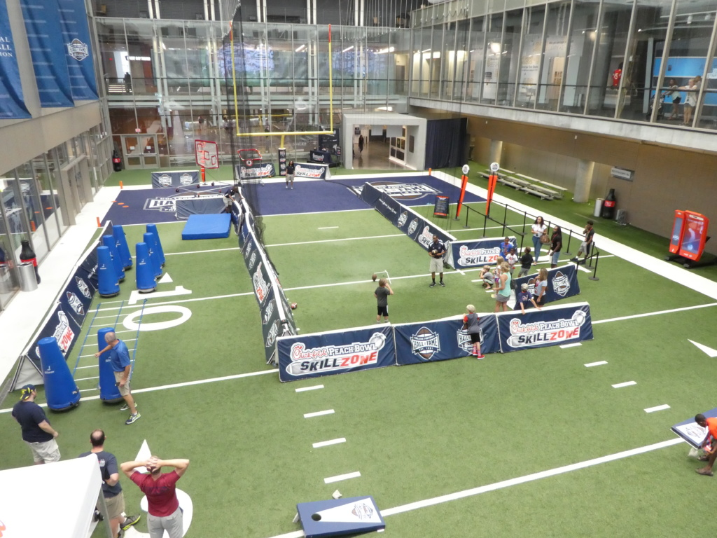 Atlanta with Kids - College Football Hall of Fame