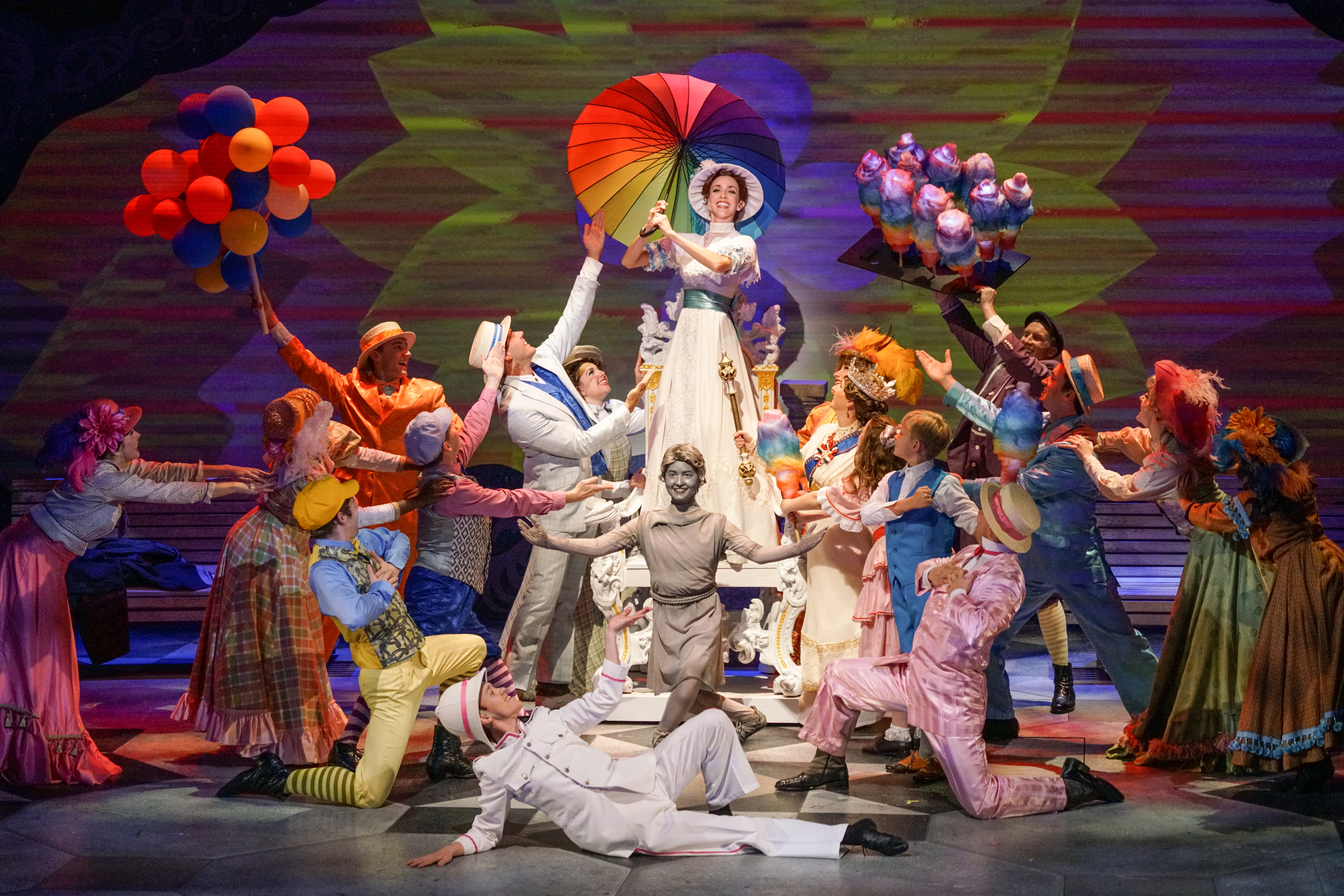Mary Poppins at ZACH Theatre – July 20 – September 4, 2016