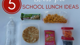 5 Stress-free School Lunch Ideas