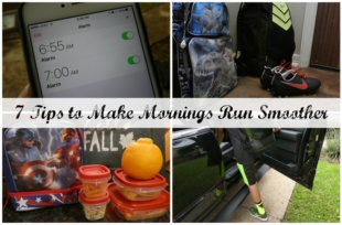 7 Tips to Make Mornings Run Smoother
