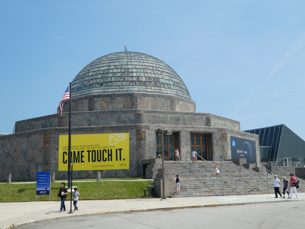 Chicago with Kids - Adler Planetarium