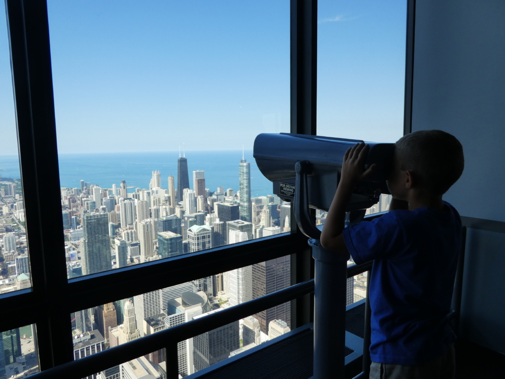 Chicago with Kids - Skydeck