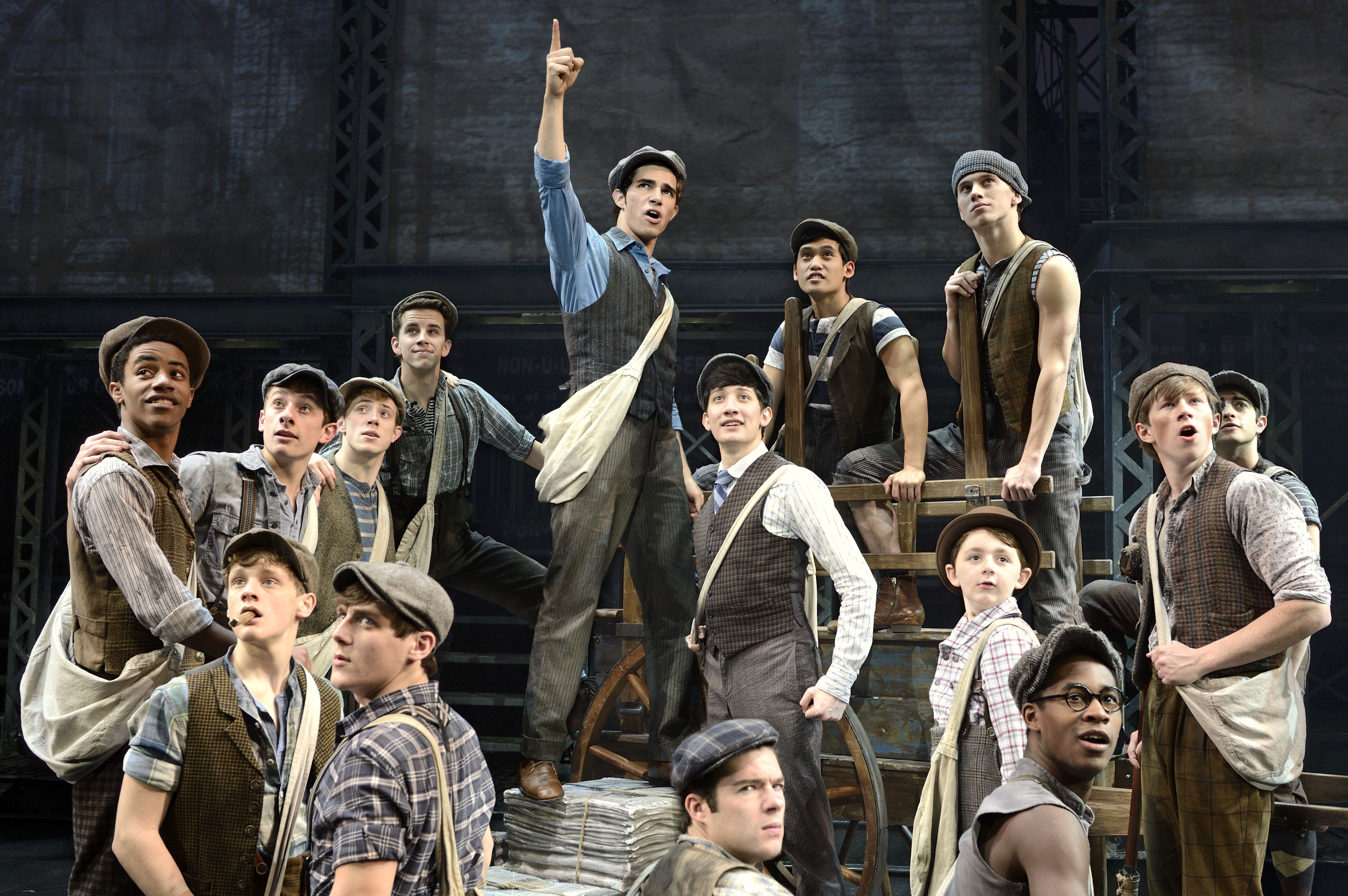 Newsies at Bass Concert Hall | September 27- October 2, 2016