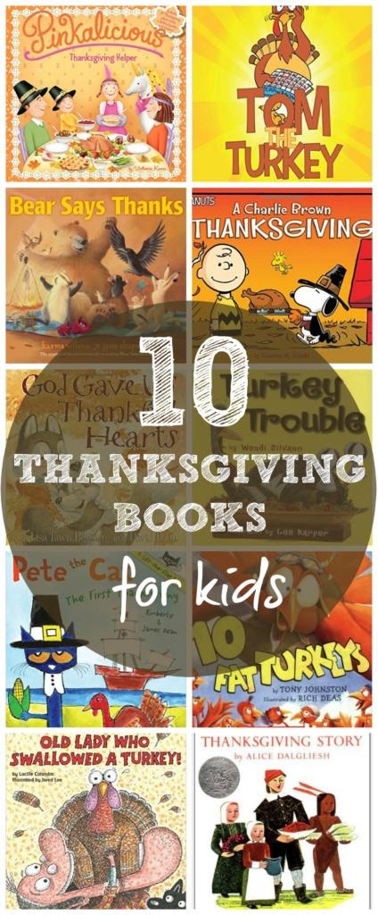 10 Thanksgiving Books for Kids