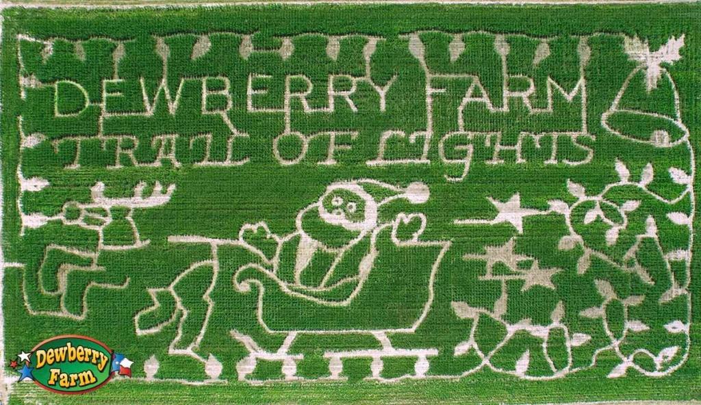 Texas Corn Mazes - Dewberry Farm