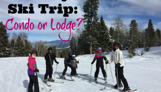 Skiing with Family: Condo or Lodge?