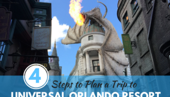 4 Steps to Planning a Trip to Universal Orlando Resort