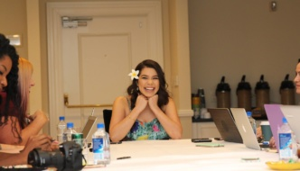 Exclusive Interview with Moana's: Auli'i Cravalho #MoanaEvent