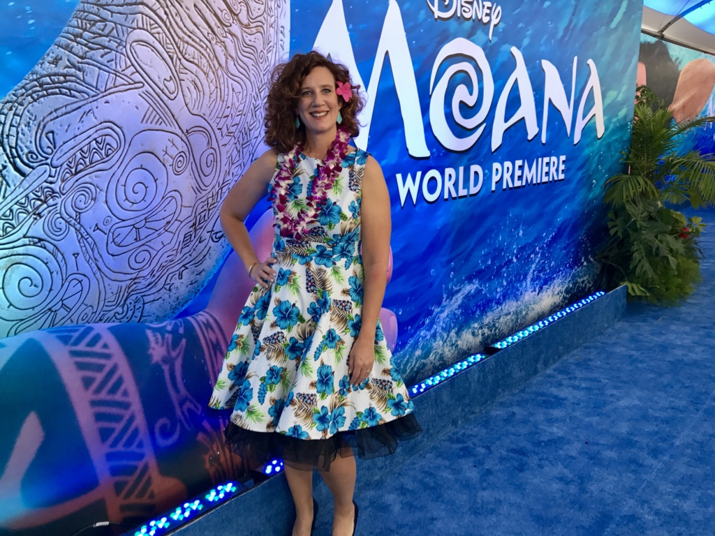 Moana Red Carpet Premiere