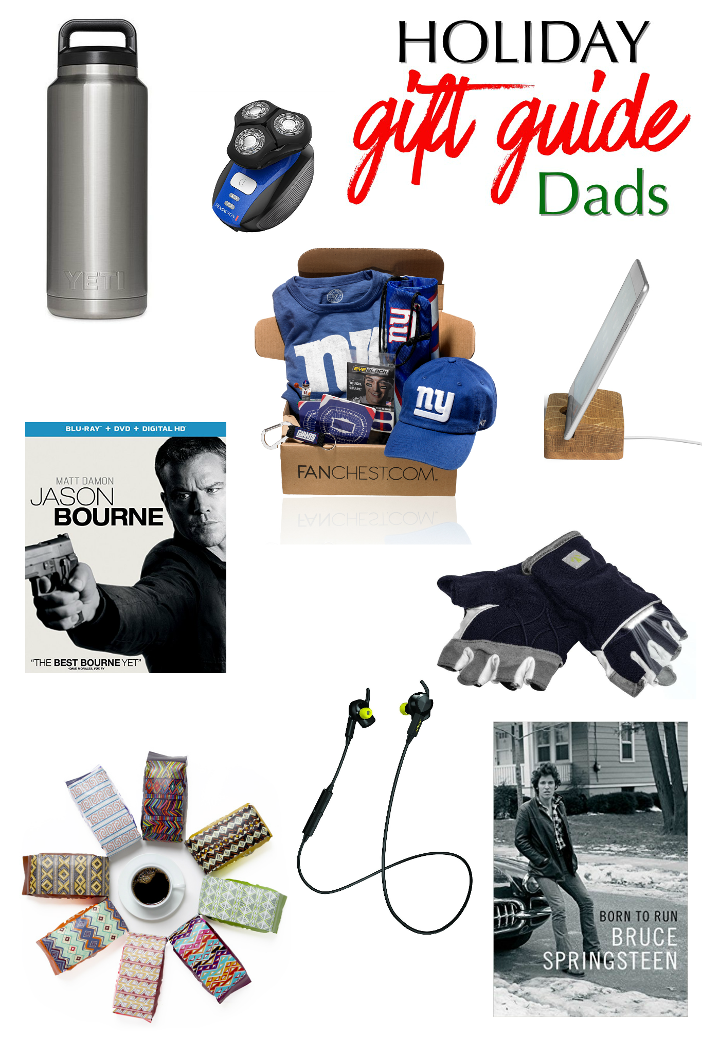 Holiday Gift Guide for Dads - What Dad Really Wants this Christmas