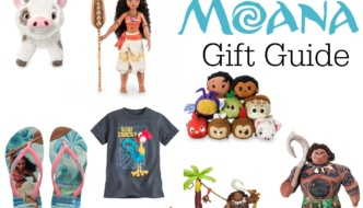 Holiday Gift Guide for Moana: Moana-Inspired Gifts