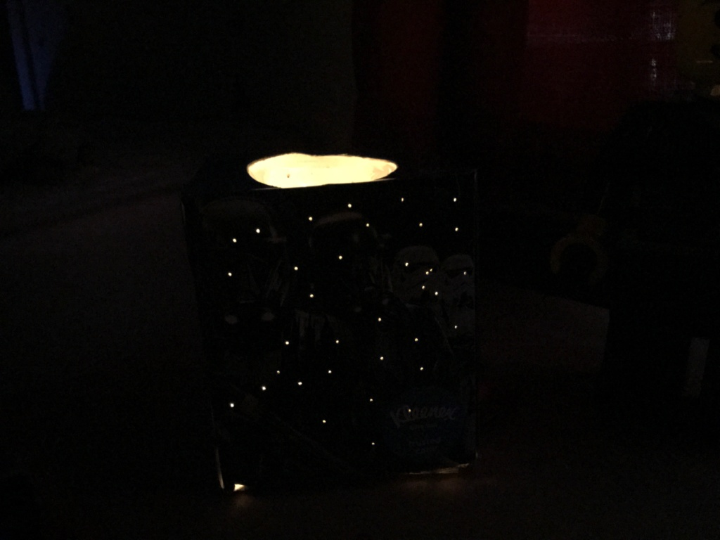 Kleenex Box Night Light