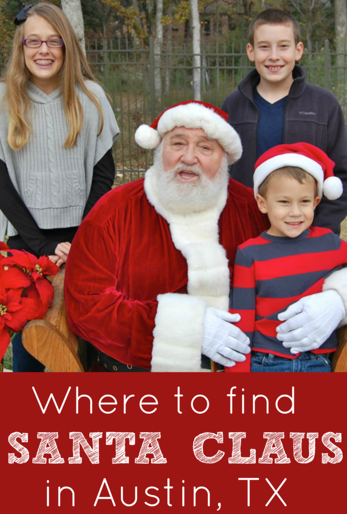 Where to Find Santa Claus in Austin, TX
