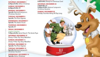 Freeform's 25 Days of Christmas – Holiday Movie Schedule