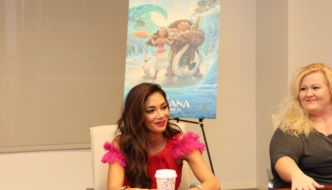 Nicole Scherzinger Had to Play the Role of Moana's Mother | #MoanaEvent
