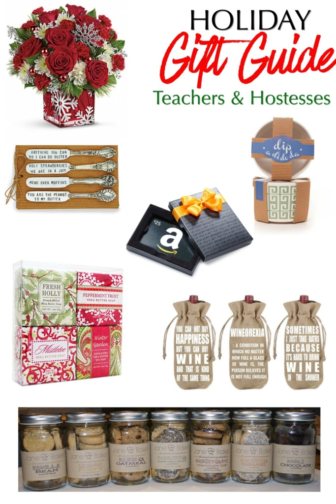 Holiday Gift Guide for Teachers & Hostesses