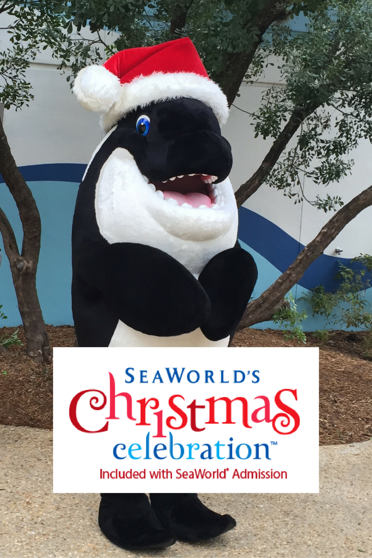 SeaWorld's Christmas Celebration at SeaWorld San Antonio