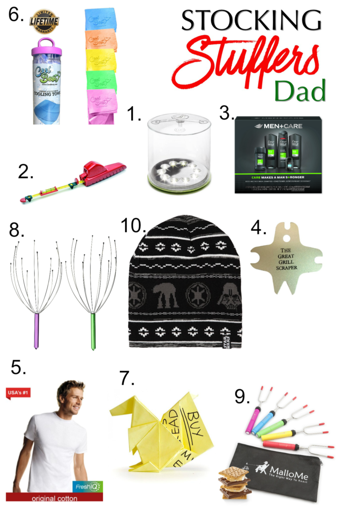 Stocking Stuffers for Dad