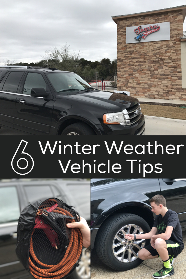 Winter Weather Vehicle Tips