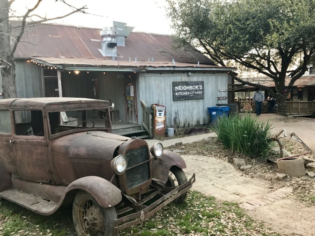 A Weekend in Bastrop: Neighbors Kitchen & Yard