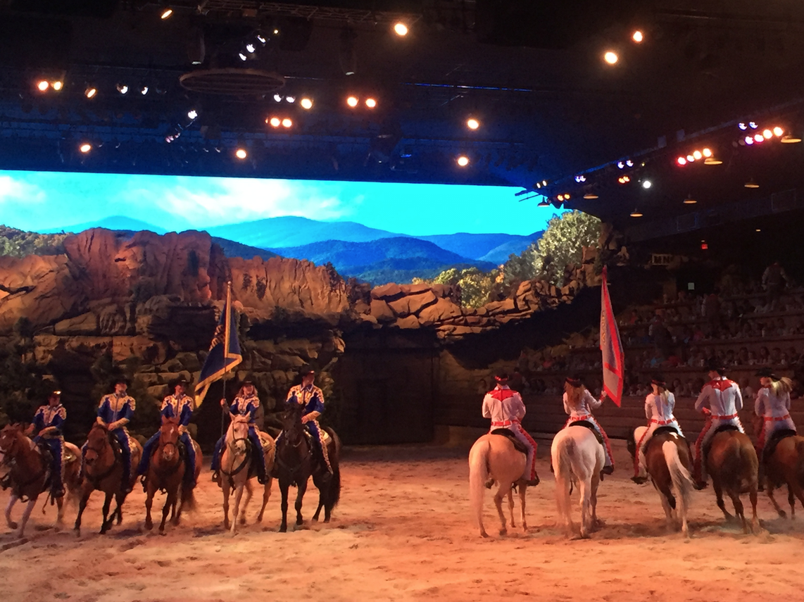 Dolly Parton's Dixie Stampede in Pigeon Forge Tennessee