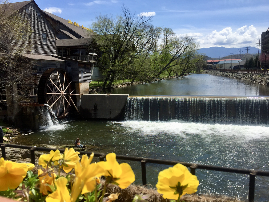 The Old Mill in Pigeon Forge Tennessee