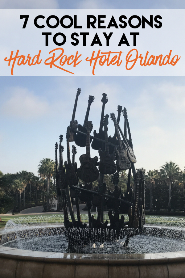 7 Cool Reasons to Stay at Hard Rock Hotel Orlando - We found some really unique amenities at this Hotel which make for a memorable stay!