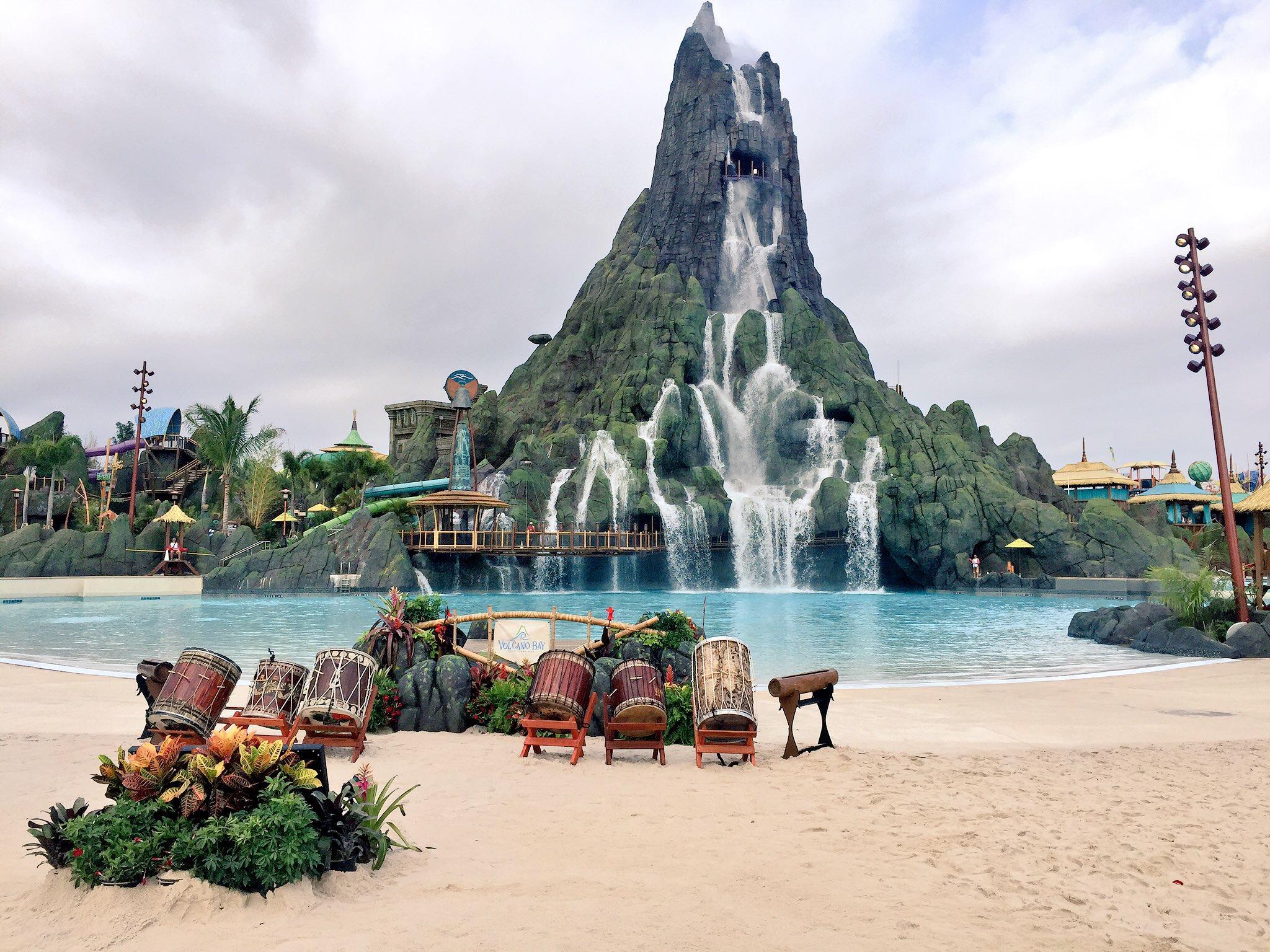 Plan a trip to Universal Orlando Resort Volcano Bay.