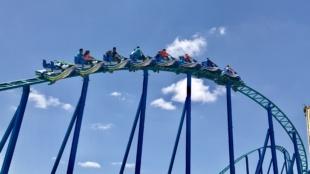 SeaWorld San Antonio Opens Wave Breaker: The Rescue Coaster