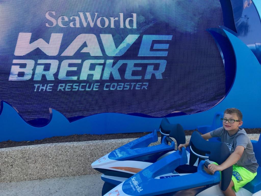SeaWorld San Antonio Wave Breaker: The Rescue Coaster
