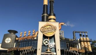Dinner at Toothsome Chocolate Emporium at Universal Orlando Citywalk