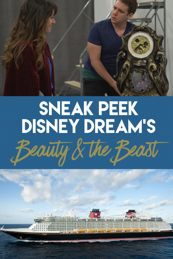 Sneak Peak of the new Show on Disney Cruise Line: Disney Dream's Beauty & the Beast