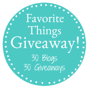 My Favorite Things Giveaway 2017!