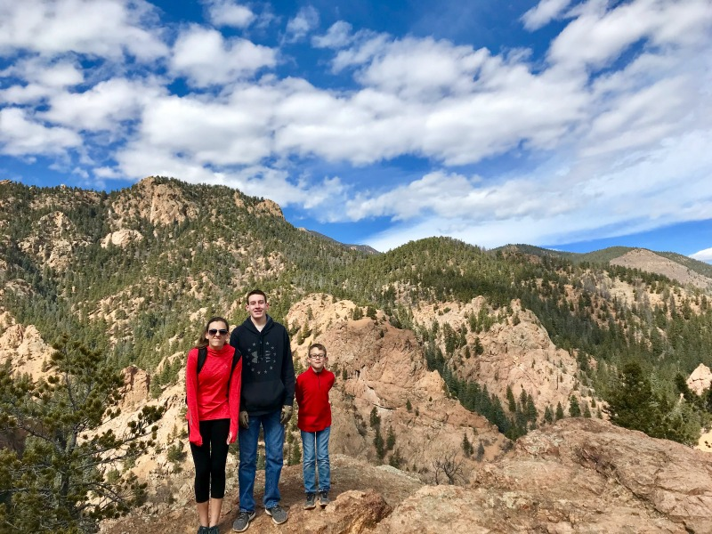 Colorado Springs with Kids: Seven Falls Inspiration Point
