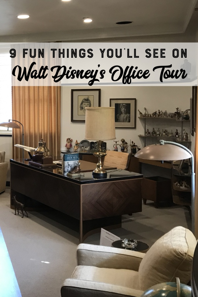 9 Fun Things You'll See on Walt Disney's Office Tour