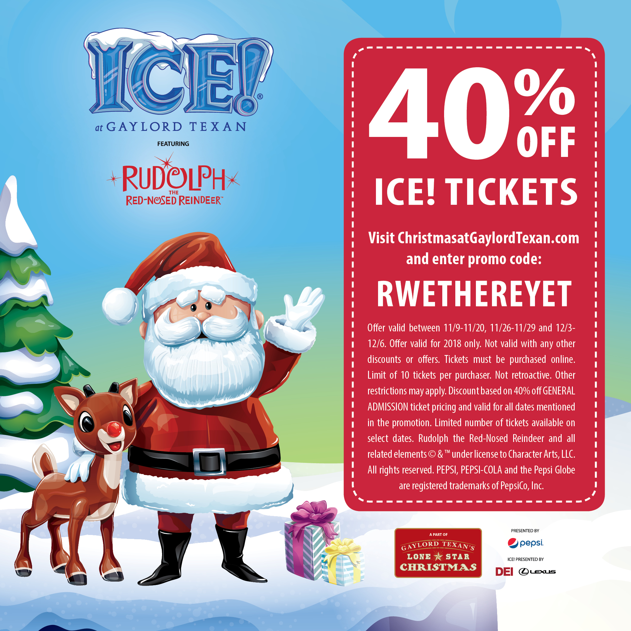 ICE! Coupon