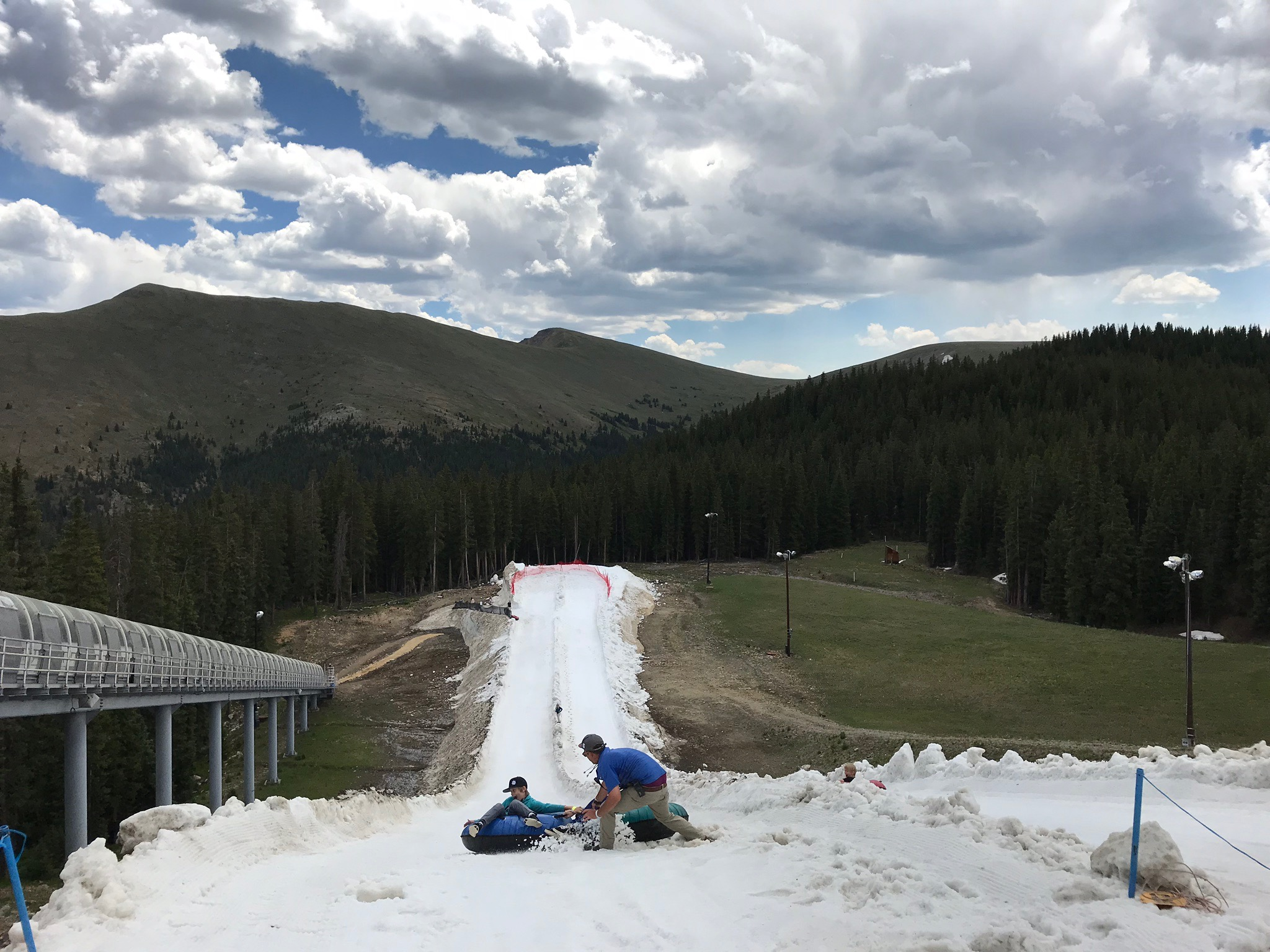 Snow Tubing at Keystone